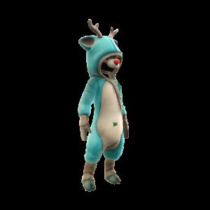 Reindeer Onesie - Teal