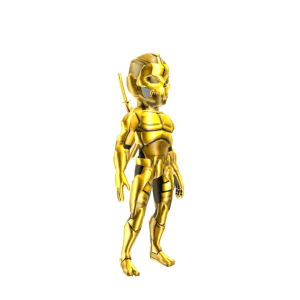 Ninja Assault Armor - Gold