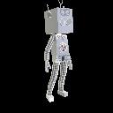 Selbstgemachtes Roboterkostüm
