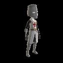 Templer-Kreuzritter-Outfit