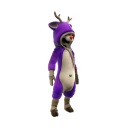 Reindeer Onesie - Purple