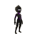 Costume de ninja noir
