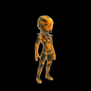 Transparent Demon Armor