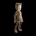 Костюм африканского леопарда