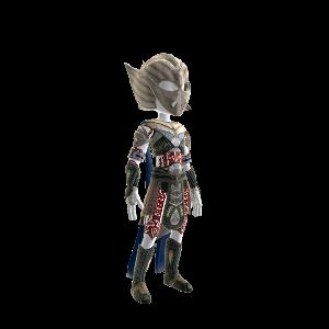 Helium Warrior Costume