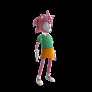 Classic Amy-Rose Avatar Costume