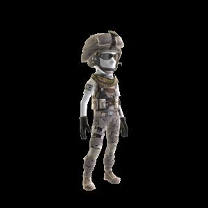 Versorgungssoldaten-Uniform