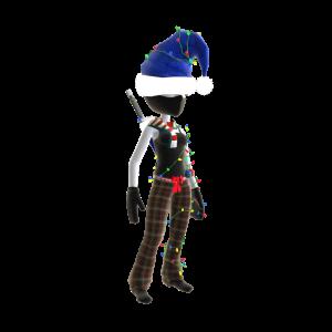 Holiday Ninja - Blue
