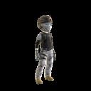 Kozak Ghost Costume