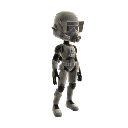 Armadura de soldado de salto