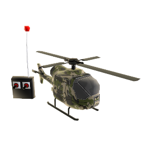 RC Helicopter (Jungle)