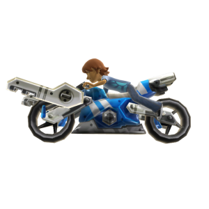 Mech Bike - Blue