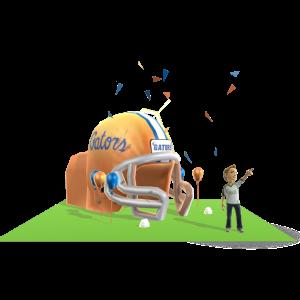 Florida Inflatable Helmet