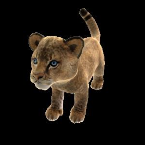 Afrikanischer Löwe (Plüsch)