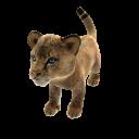 Африканский лев (плюшевый)