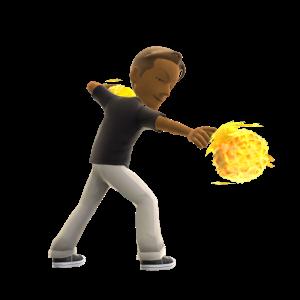 Fable: The Journey Fireball Spell