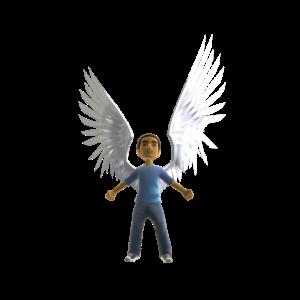 Icarus Wings - White