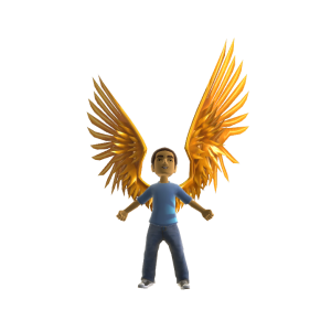 Icarus Wings - Gold