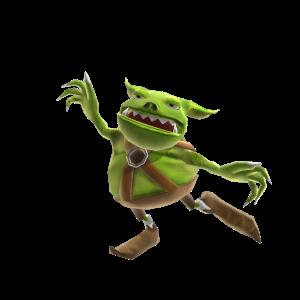 Wreckateer - Zaprzyjaźniony goblin