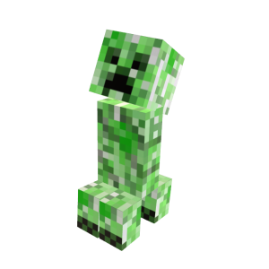 Minecraft Mascota Creeper
