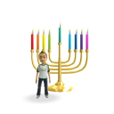 Hanukkah - Color Candles