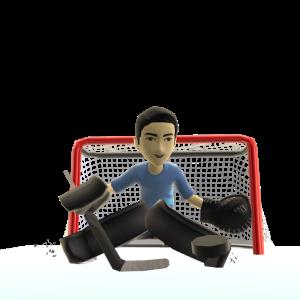 Goalie Pads - Black