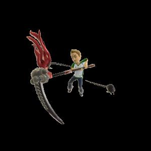 Toy Legendary Scythe - Red