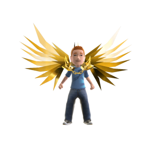Golden Knight Wings