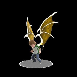 Vampire Wings - Gold