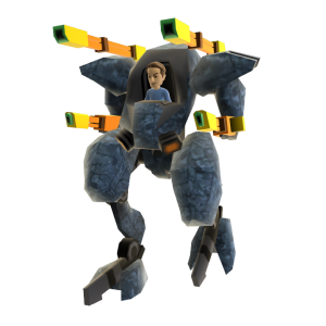Toy Mech Suit