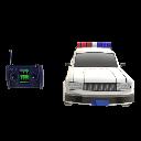 Voiture police télécommandée