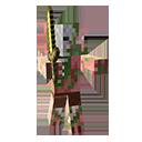 Uomo-maiale zombie