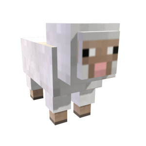 Minecraft Sheep Shearing