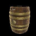 Half-Barrel Stand