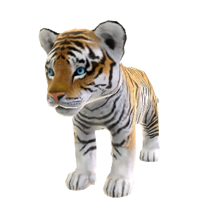 Zoo Tycoon Siberian Tiger
