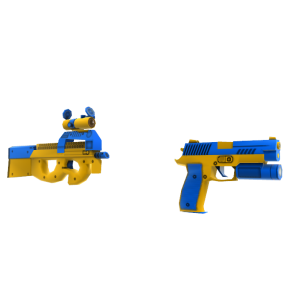 Toy SMG and Pistol