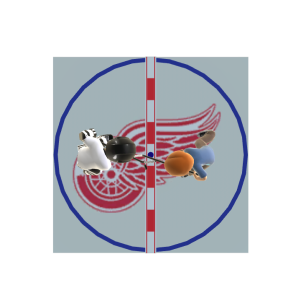 Red Wings Face-Off