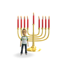 Hanukkah - Red Candles