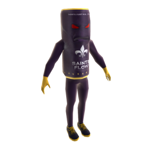 Adereço Mini Mascote Paul