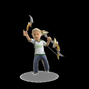 Kingslayer Toy Bows - Gold Rage
