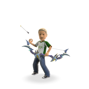 Kingslayer Toy Bows - Blue Super