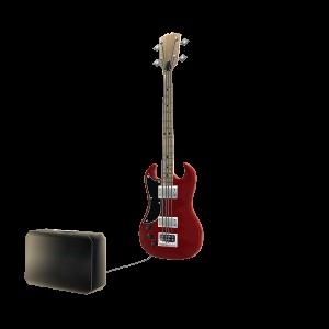电吉他和扩音器