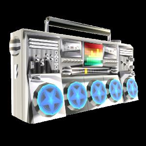 The Glitterati's Boombox
