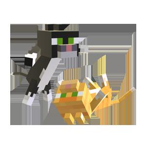 Minecraft - mazlíčci