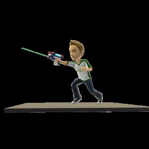 Toy Laser Pistol Battleground