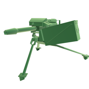 Deployable Machine Gun