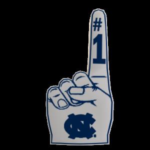 UNC Foam Finger