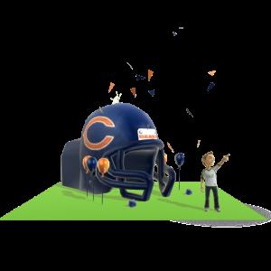 Bears Inflatable Helmet