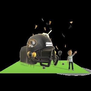 Missouri Inflatable Helmet