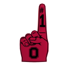 Ohio State Foam Finger